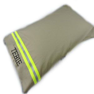 tan bunker gear pillowcase