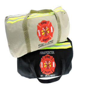 Firefighter- overnight-duffel-bag