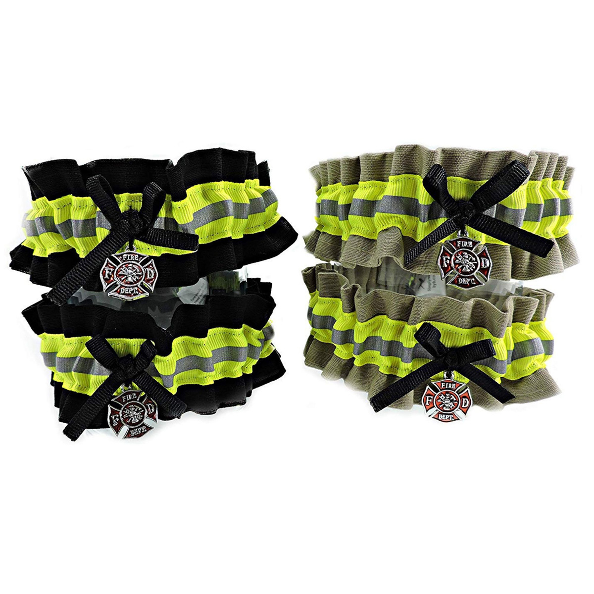 Firefighter-Wedding-garter-set