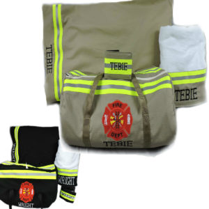 Tan Black Firefighter Gift Set