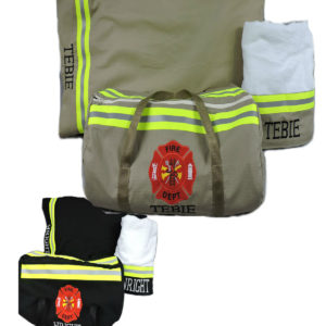 Tan or black Bunker gear Firefighter gift