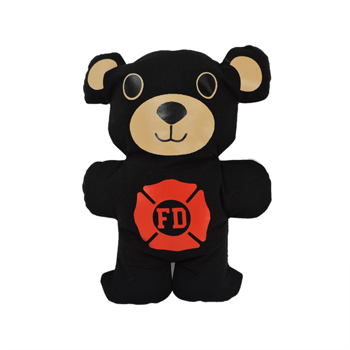 black Firefighter Teddy Bear
