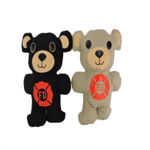 black and tan Firefighter Teddy Bear