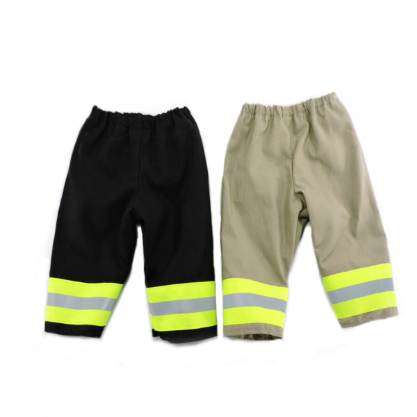 black and tan Firefighter baby pants