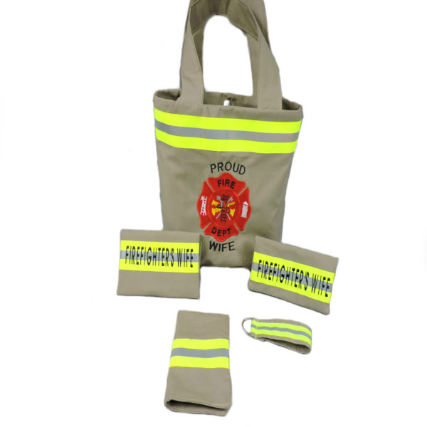 Firefighter wife Purse Set with extras