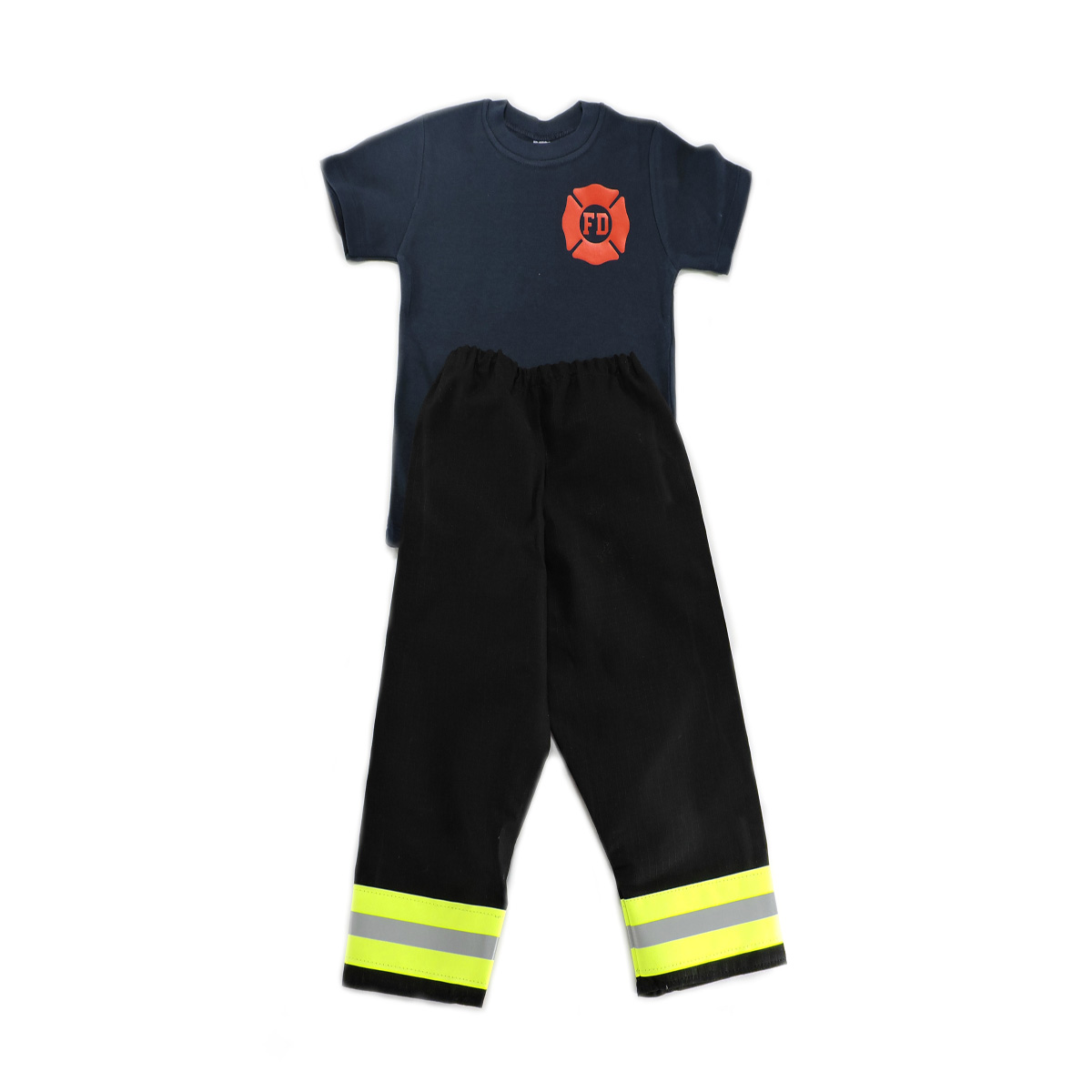 black toddler firefighter outfit