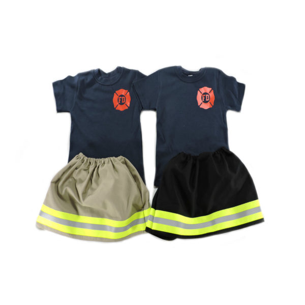 firefighter toddler girl outfit
