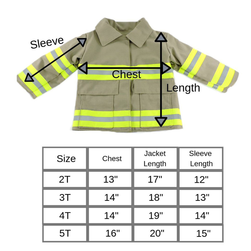 firefighter-toddler-jacket-size-chart
