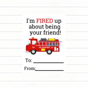 Firefighter Printables